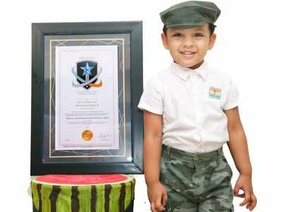 Hyderabad toddler bags two awards for memory, practices yoga every day