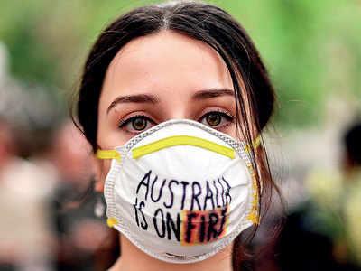 Firefighters in Australia accidentally spread blaze