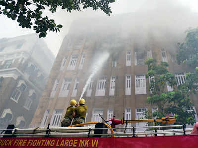 No casualty in Scindia House fire, crucial files may be lost