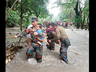 Toll in Assam flood climbs to 74; 38.82L still affected
