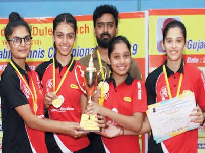 Surat Jr girls defend title