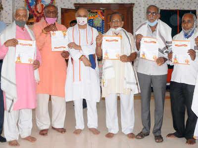 AHP plans to felicitate 10 lakh kar sevaks across India