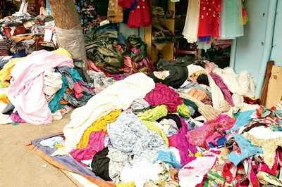Down, but not dusted: The fabric business at Ramachandrapuram has taken a hit due to tax reforms
