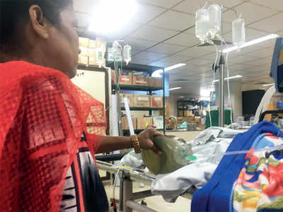 At Sion Hospital, family keeps man alive by pumping manual ventilator