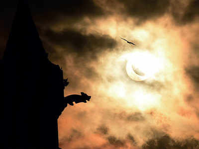 Millions in parts of Asia marvel at 'ring of fire' in the last solar eclipse of the decade