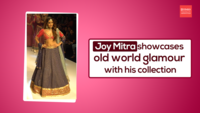 Joy Mitra Showcases Old World Glamour With His Collection