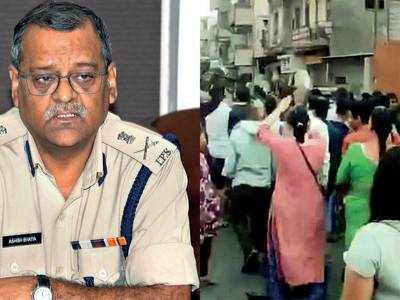 Police arrest 41 for assembling in Khadia and violating Sec 144
