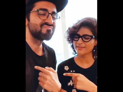 Ayushmann Khurrana, Tahira Kashyap are pointing fingers