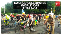 World Car Free Day: Nagpurians take out cycle rally