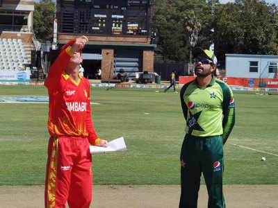 Live Cricket Score, Zimbabwe vs Pakistan 3rd T20I