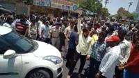 BJP workers block Indore-Ujjain highway protesting murder of party worker in Palia