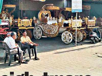 Covid neigh-tmare: Buggy owners hit as shaadis downsize