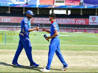 IPL 13: Mumbai Indians wins toss, opts to bowl first against Delhi Capitals