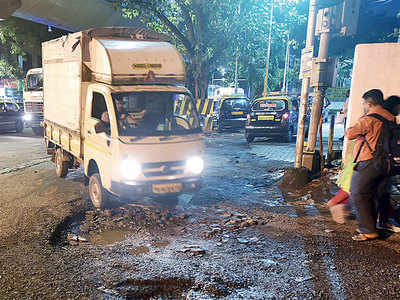 Just 233 potholes are yet to be filled across the city!