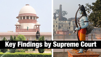 Ayodhya Verdict: Key findings by Supreme Court
