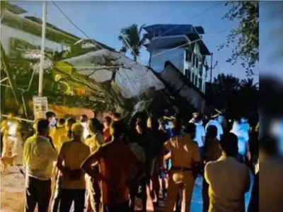 Five storey building collapses in Nalasopara; lucky escape for couple