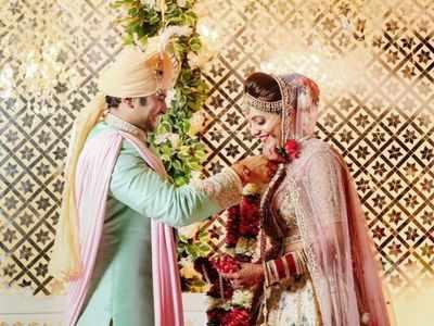 The Kapil Sharma Show fame Sugandha Mishra, Sanket Bhosale tie the knot