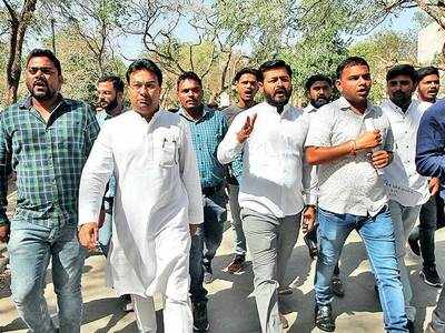 Profs forced students to vote for ABVP: NSUI