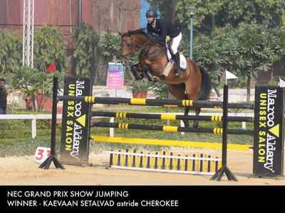 National Equestrian Championship: Setalvad brothers bring home Gold and Silver