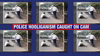 Shocking police brutality caught on cam in Ghaziabad