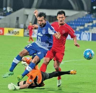Football: Bengaluru FC start season with a bang, Sunil Chhetri shines
