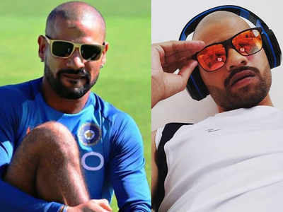 No Shikhar Dhawan doesn't have a twin, that's his doppelganger