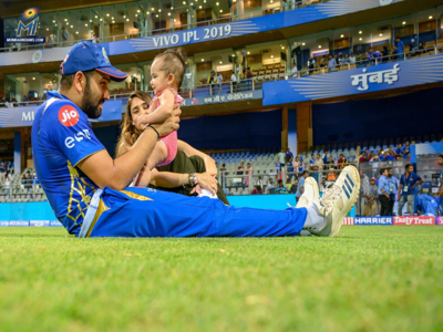 Watch: Mumbai Indians skipper Rohit Sharma dedicates 50-run knock to daughter Samaira