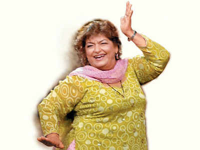 Saroj Khan returns to TV