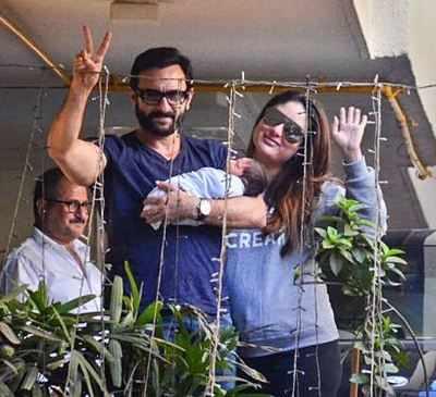 Cuteness alert! Kareena Kapoor Khan's son Taimur Ali Khan's picture gone viral