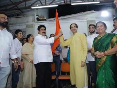 Former NCP MP Sanjay Dina Patil joins Shiv Sena