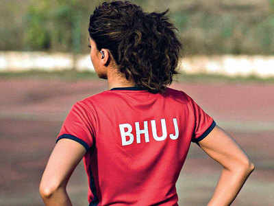 Taapsee in Bhuj for shoot