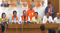 3 Congress MLAs defect to BJP on eve of RS polls in Gujarat, hit Ahmed Patel bid
