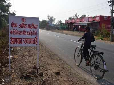 MP's first cashless village goes back to cash