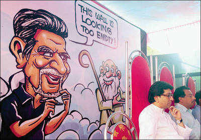 Raj Thackeray inaugurates chowk named after cartoonist Mario Miranda