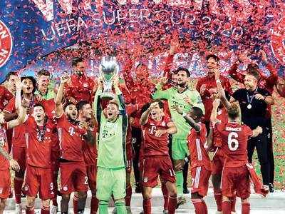 Bayern achieve quadruple with Super Cup victory