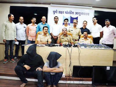 Duo from satsang camp nabbed for thefts, break-ins