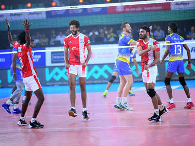 Pro Volleyball League: Calicut Heroes record first whitewash in win over Kochi Blue Spikers
