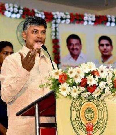 Andhra CM N Chandrababu Naidu meets PM Narendra Modi with a list of 13 wishes