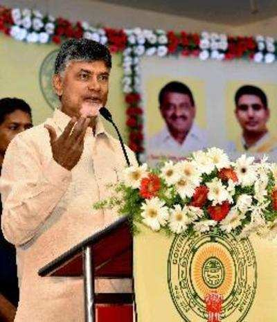 Andhra CM N Chandrababu Naidu meets PM Narendra Modi with a list of 13 wishes
