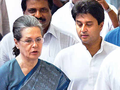 Rumoured meeting between Sonia and Scindia postponed