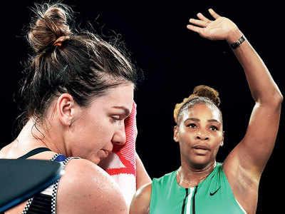 Serena Williams defeats World No 1 Halep Simons to reach quarter-finals