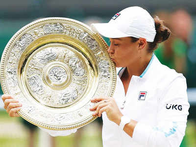 Ashleigh Barty clinches title