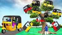 Popular Children Hindi Nursery Story 'Magical Tree Mini Auto Rickshaw' for Kids - Check out Fun Kids Nursery Rhymes And Baby Songs In Hindi