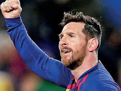 Unstoppable Messi