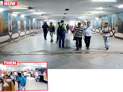 A 'humble' powerbank clears away vendors from Majestic subway