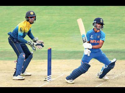 Siddhesh Veer impresses as India win match against Sri Lanka