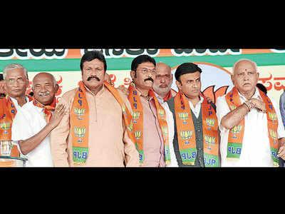 K'taka: 13 disqualified MLAs get BJP ticket