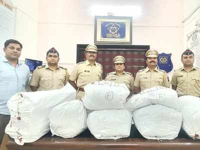 Thane Police seizes over 44 kgs ganja, fails to arrest accused