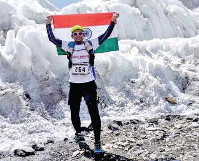 Meet Bengaluru's Deepa Bhat, Taher Merchant who are the first Indians to finish the world's highest 60 km-Everest Marathon