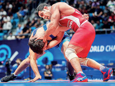 World Wrestling Championships: Sushil Kumar loses in opening round, Bajrang Punia wins bronze medal